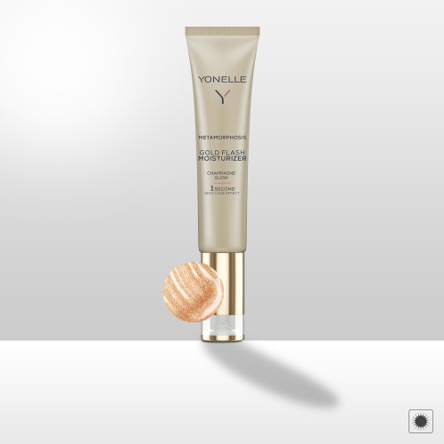 METAMORPHOSIS gold flash moisturizer